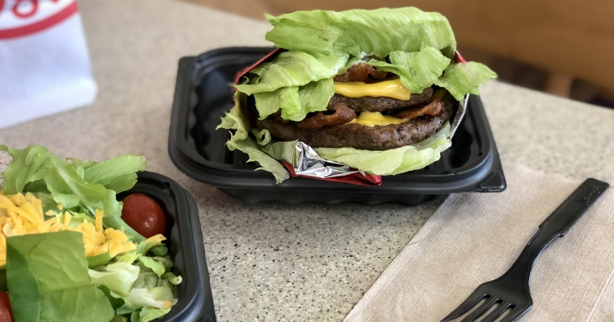 wendys keto dining guide – baconator