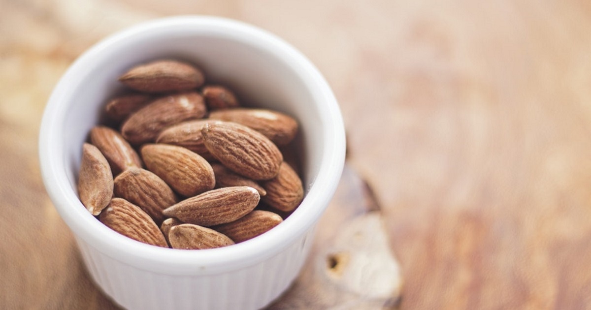 amazon deal planters nuts – A small bowl of almonds