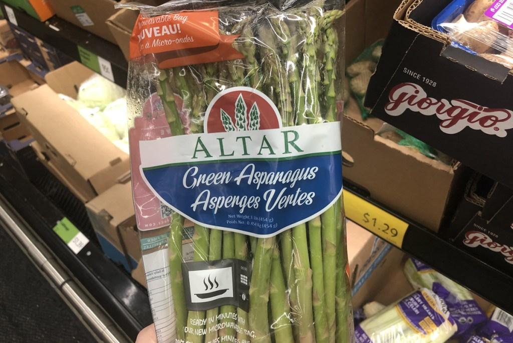 bag of asparagus