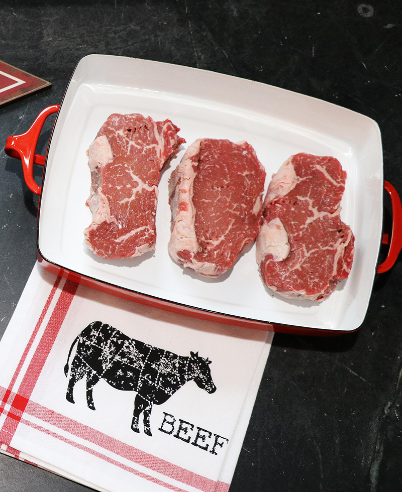 what is the carnivore diet — marbled steaks