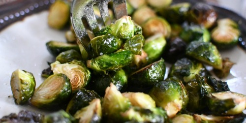 These Easy Roasted Brussels Sprouts are the BEST!