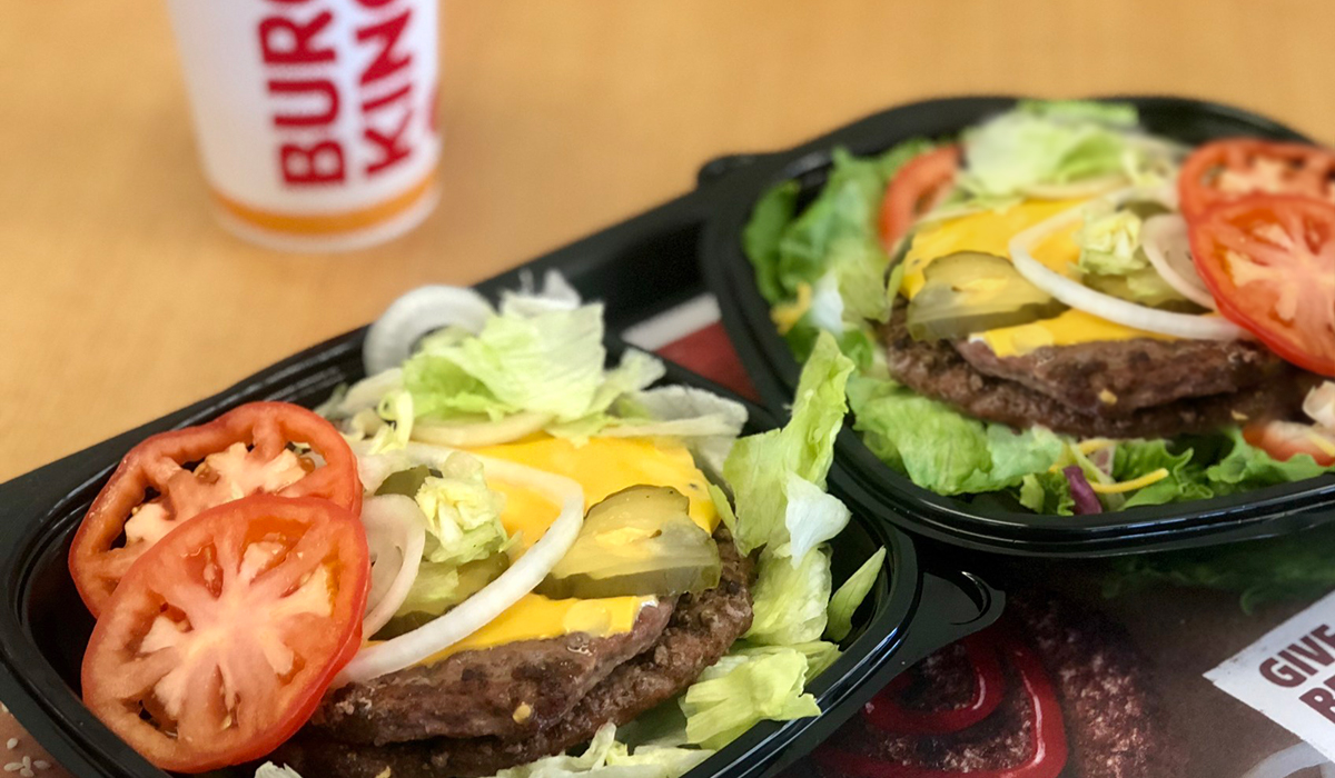 more meat for less — burger king double cheeseburgers