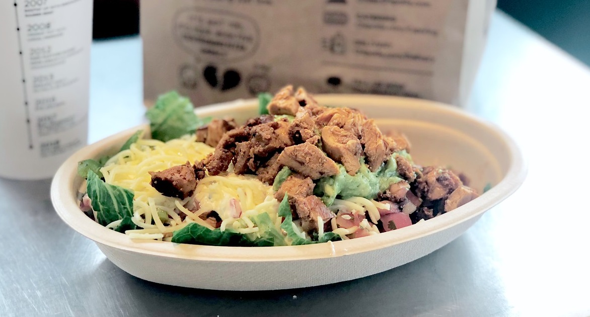 chipotle keto dining guide – carnitas salad