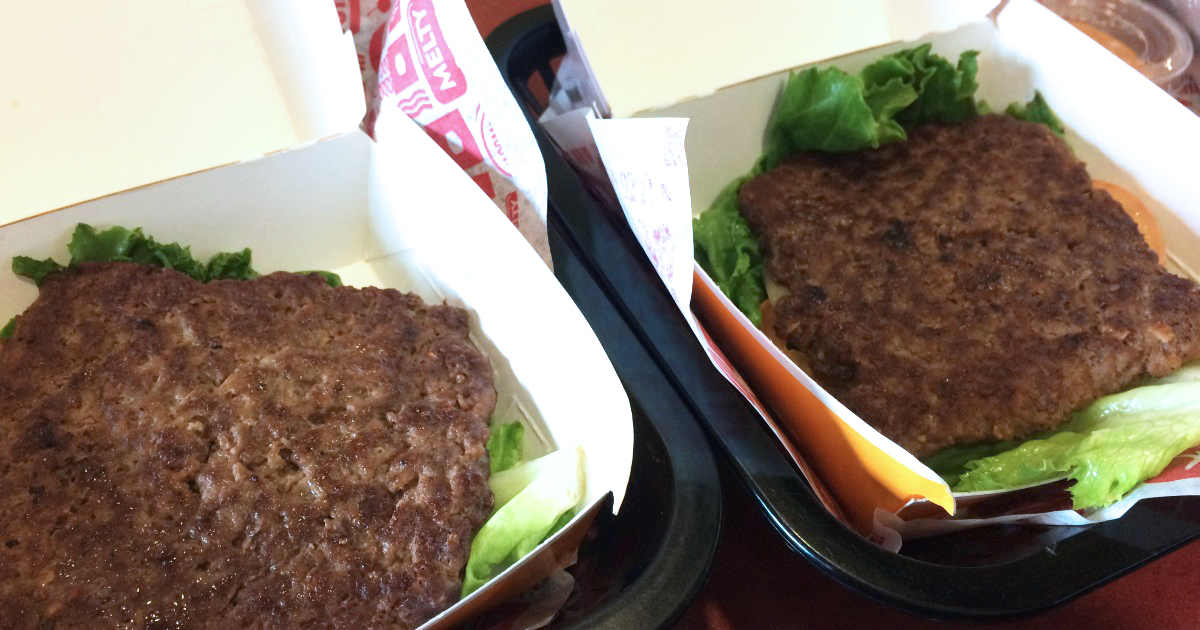 more meat for less — jack in the box burgers