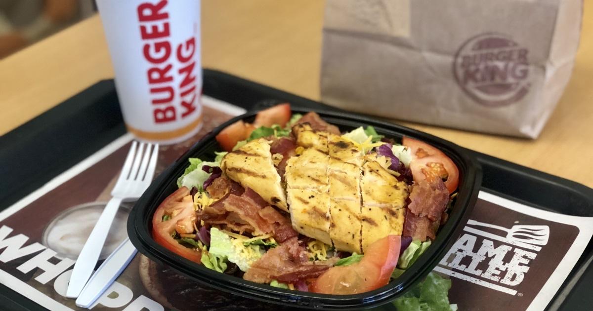 Burger King keto dining guide – chicken salad
