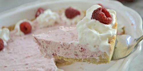 You Won't Believe This Raspberry Cream Pie is Keto!
