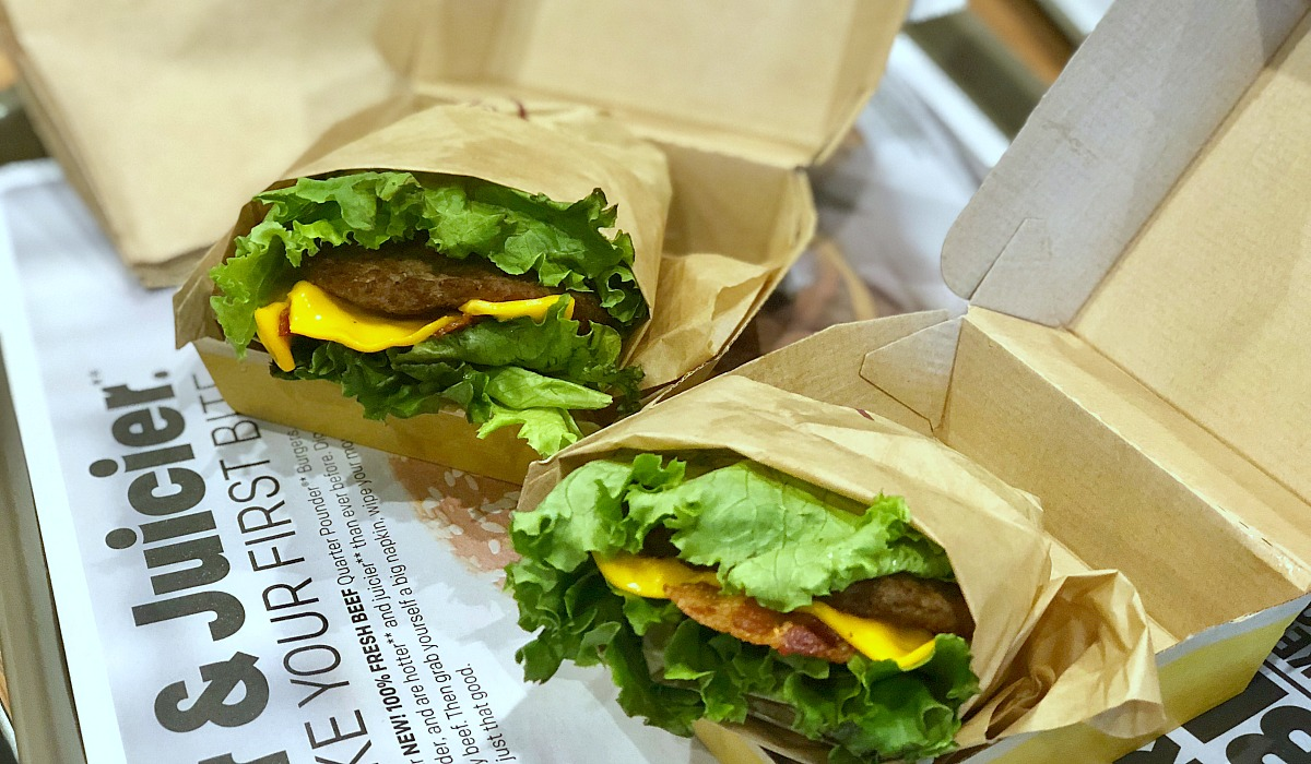 more meat for less — mcdonald's mcdouble