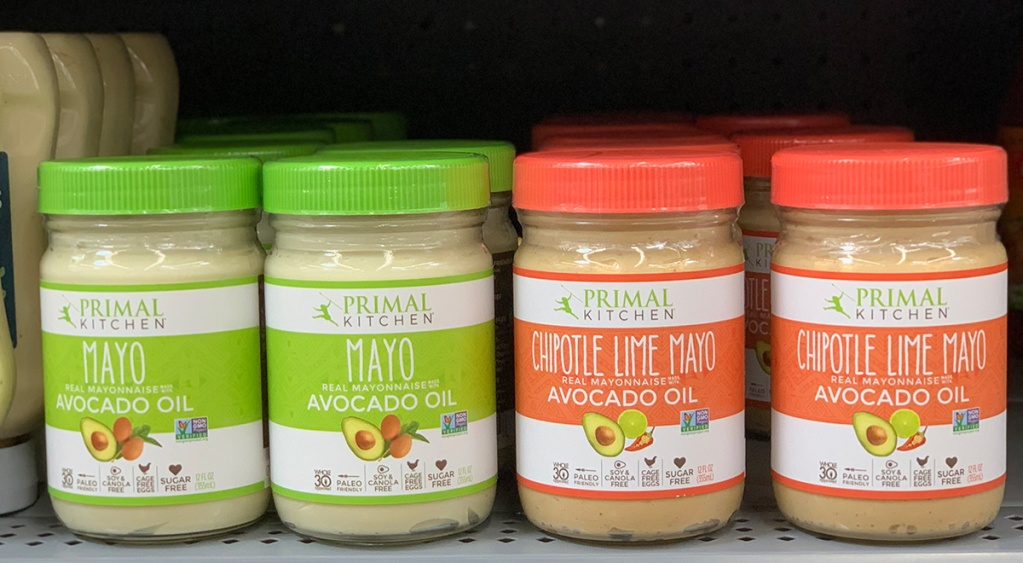 primal kitchen regular and chipotle lime avocado oil mayonnaise