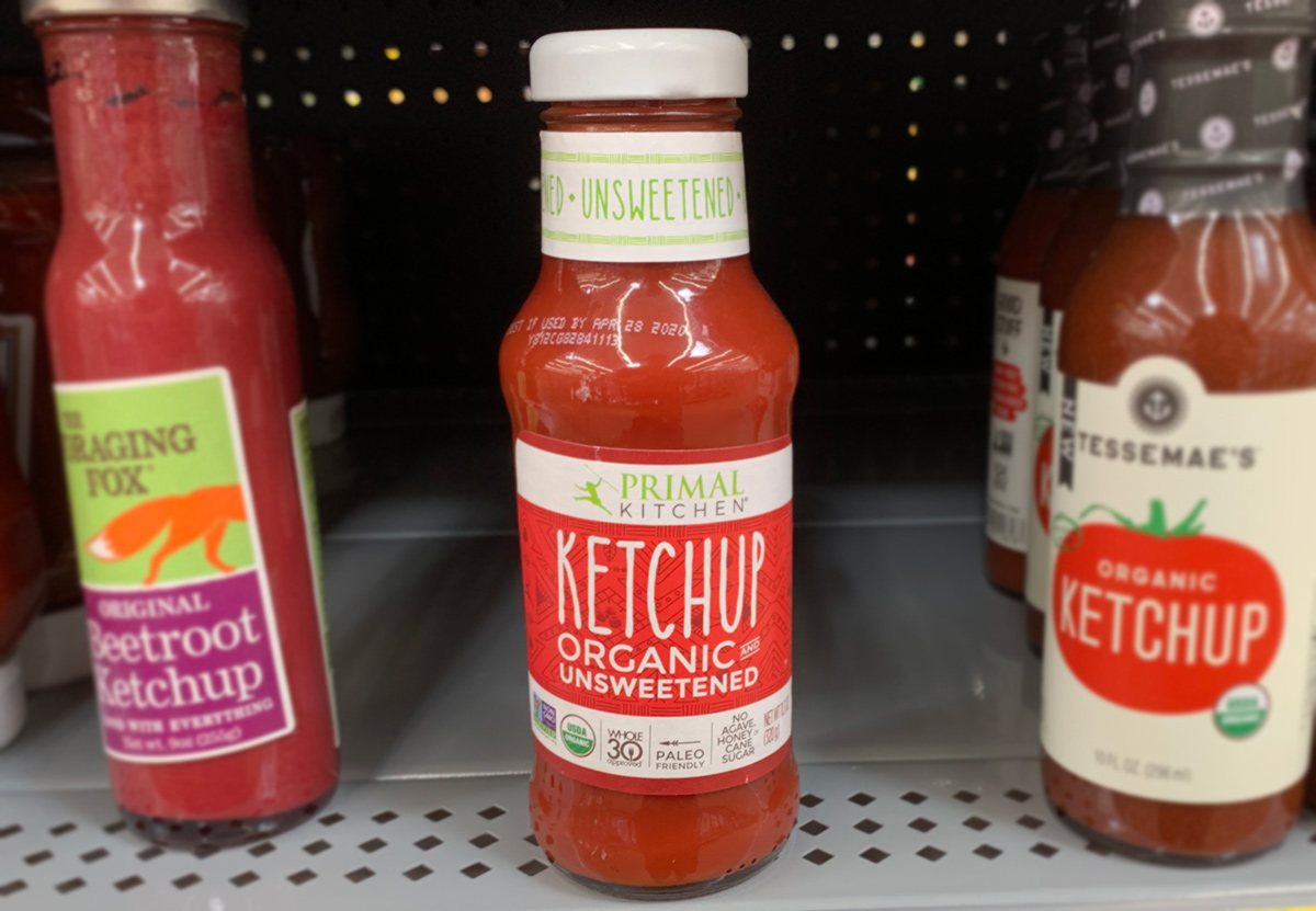 primal kitchen no sugar ketchup