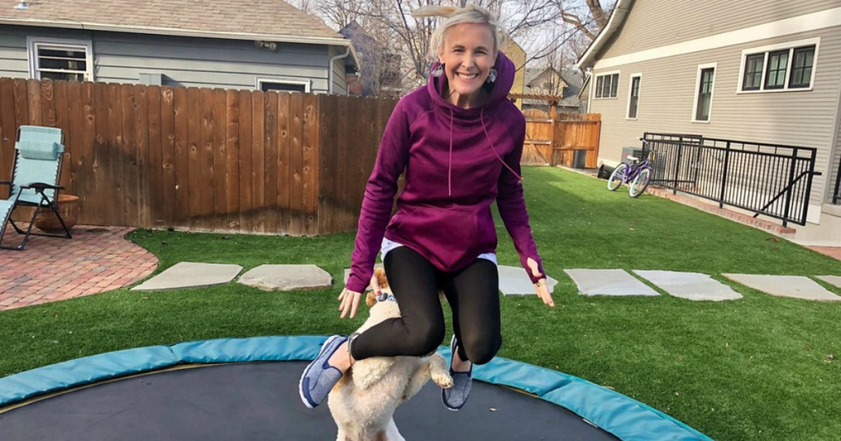 ask nutritionist carbs exercise collagen - collin on a trampoline
