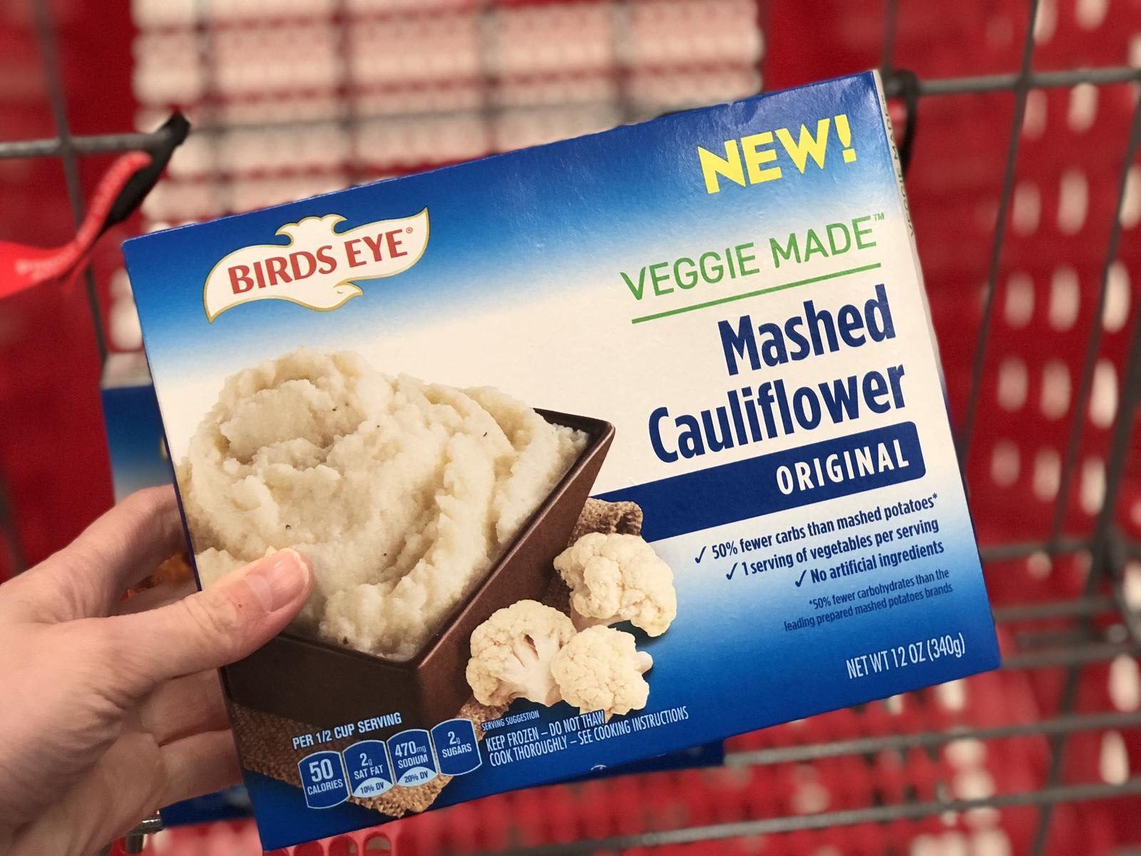 Get target deals on veggies and meats – Birds Eye Veggie Made Mashed Cauliflower at Target