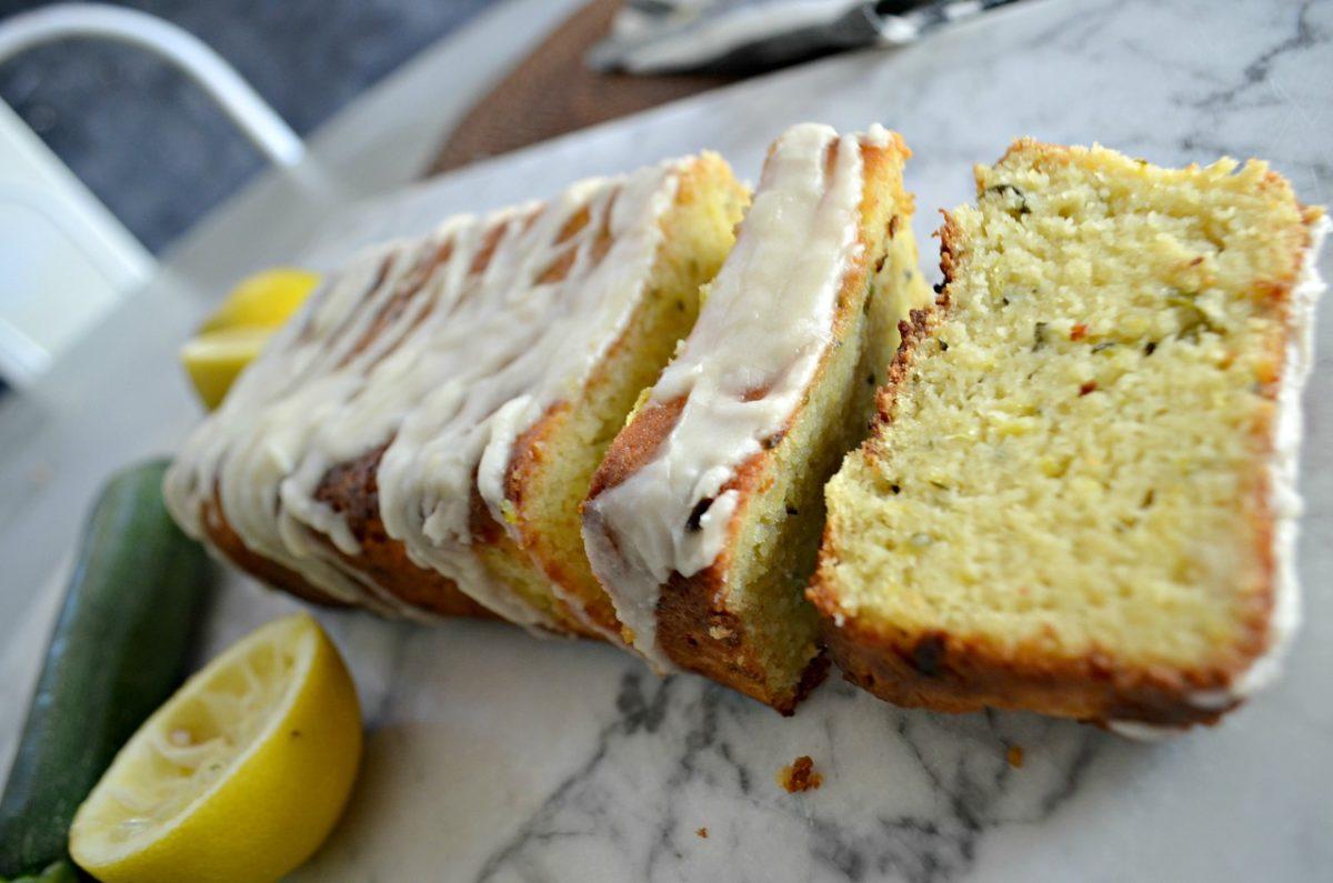 keto zucchini lemon loaf
