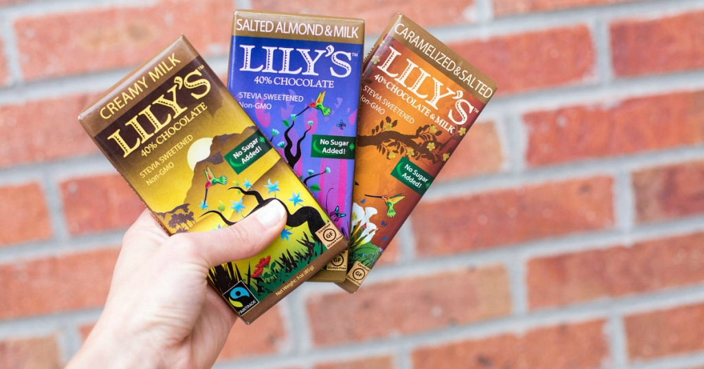 LILY's Chocolate Bars