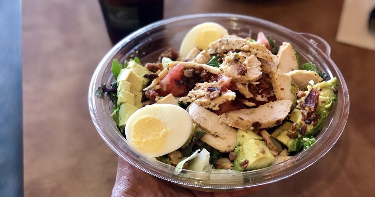 panera bread keto dining guide – green goddess salad