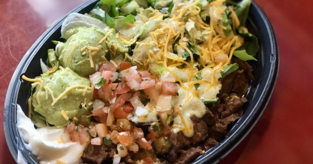 Steak Bowl Taco Bell
