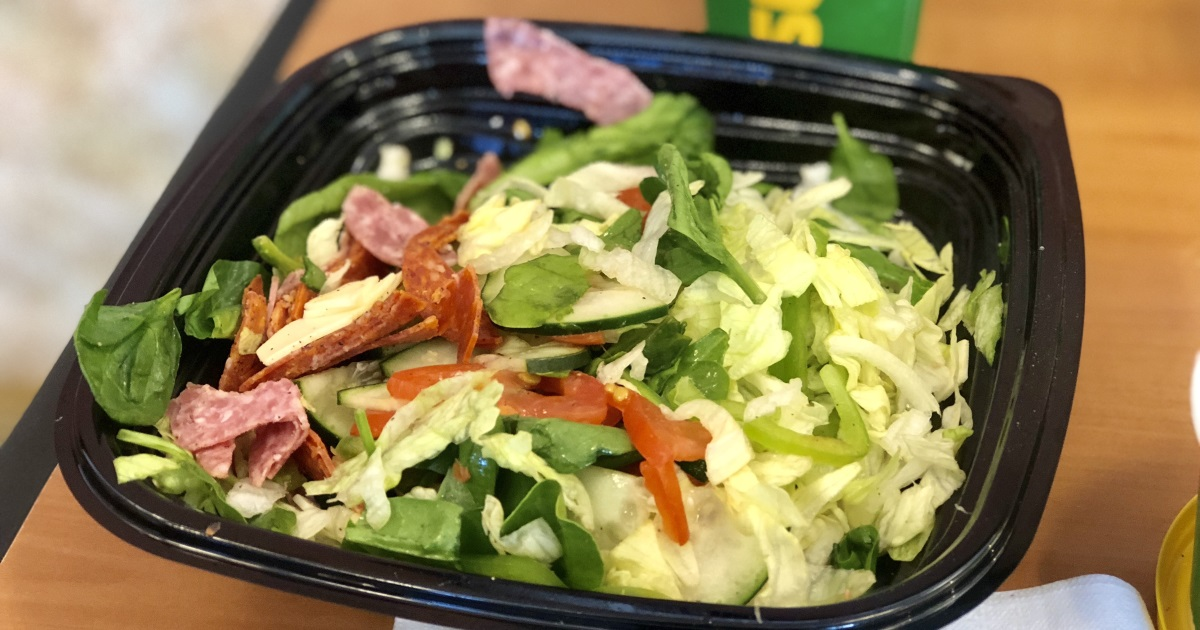 subway keto dining guide – Italian salad