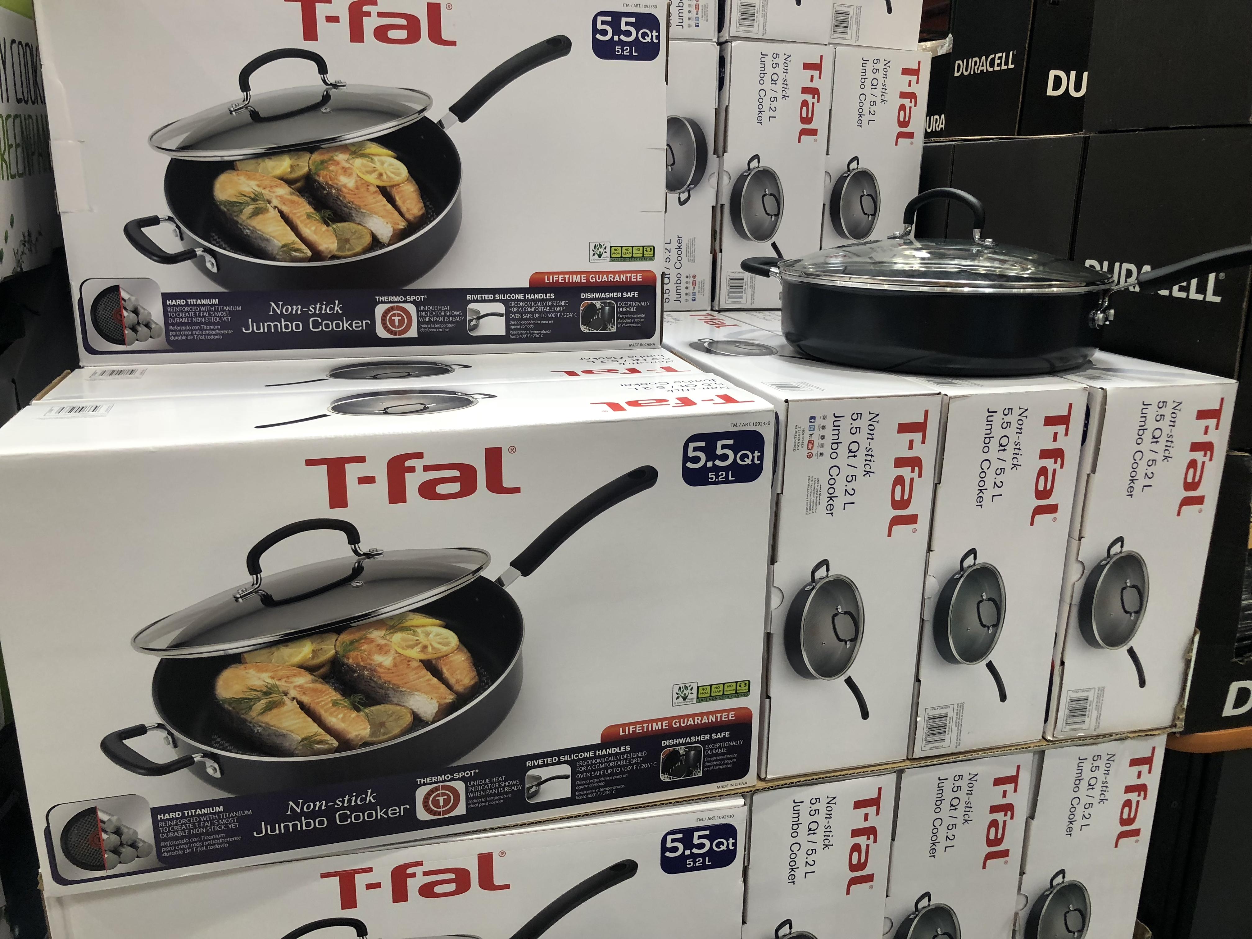 August keto Costco deals - T-fal pan at Costco