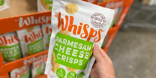 Craving that Crunch? Try Whisps Parmesan Cheese Crisps (+ Score a Great Deal at Costco!)