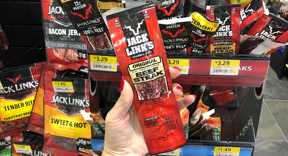 gas station keto-friendly snacks gas – jack links beef steak jerky stick