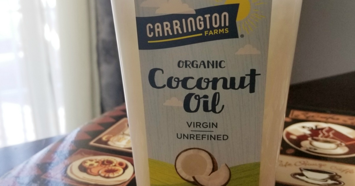 Ways to use coconut oil – coconut oil close up on jar