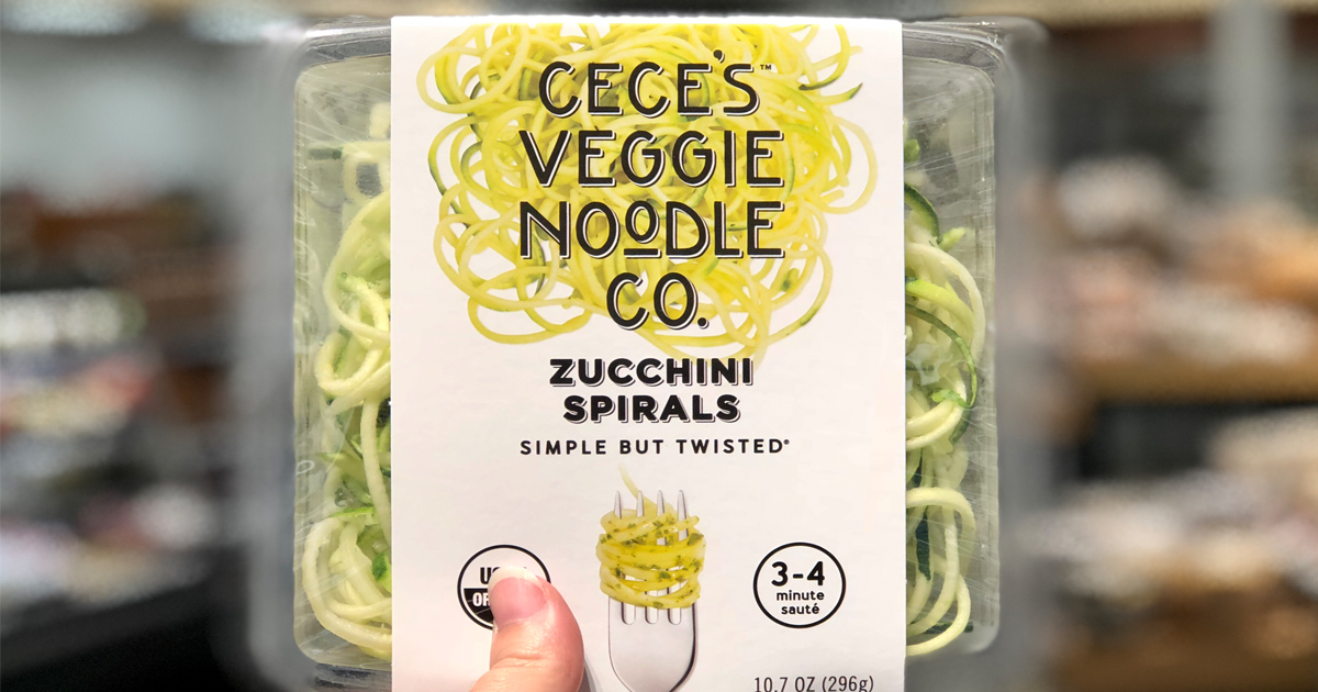 Get this target deal on Cece's veggie noodle spirals like the one pictured
