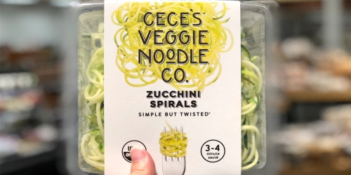 Great Deal on Cece's Veggie Noodle Co. Zucchini Spirals at Target