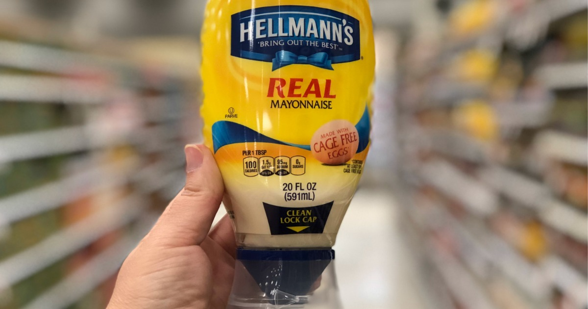 hellmanns mayonnaise amazon deal – mayo squeeze bottle