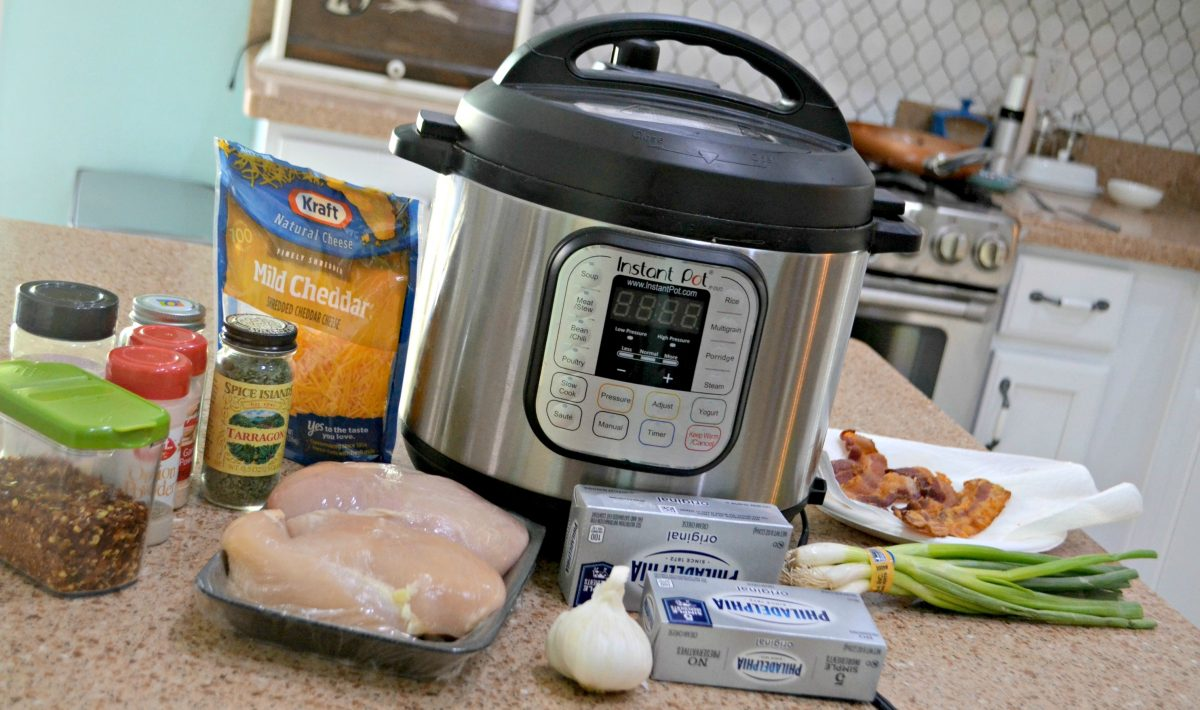 keto instant pot crack chicken - the ingredients