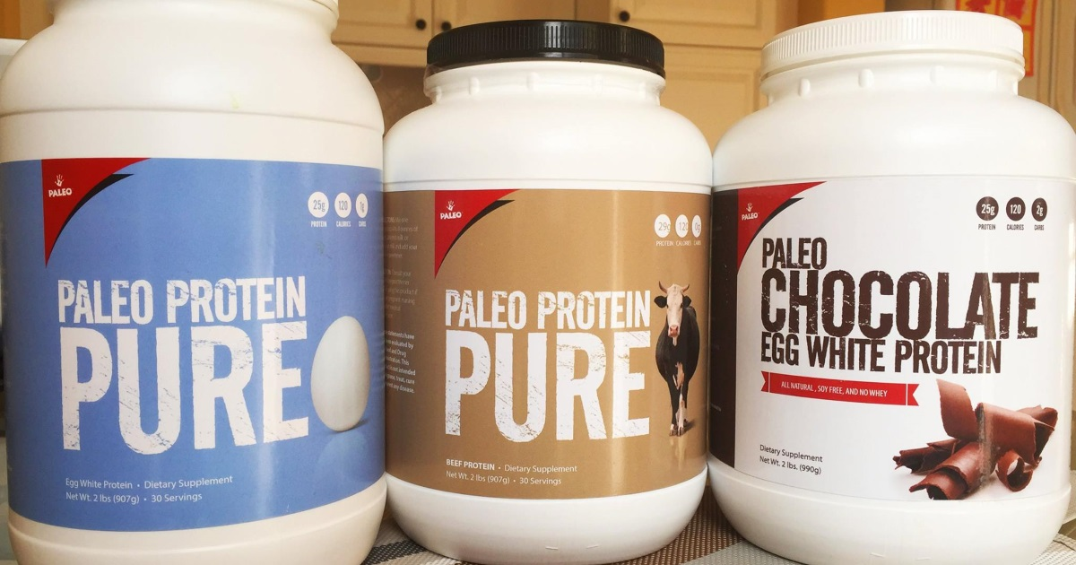 We ask a keto nutritionist about snacks, sweeteners, and protein powders – Three protein powders on a counter