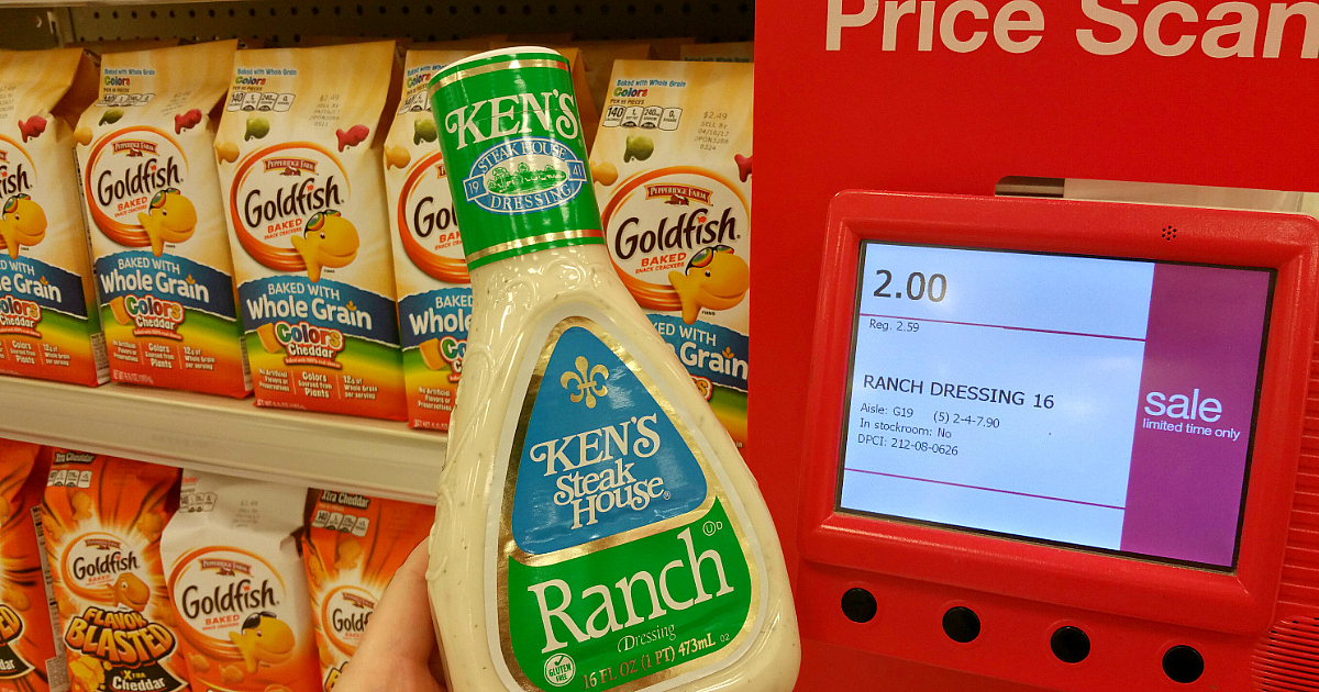 kens steak house ranch dressing at Target
