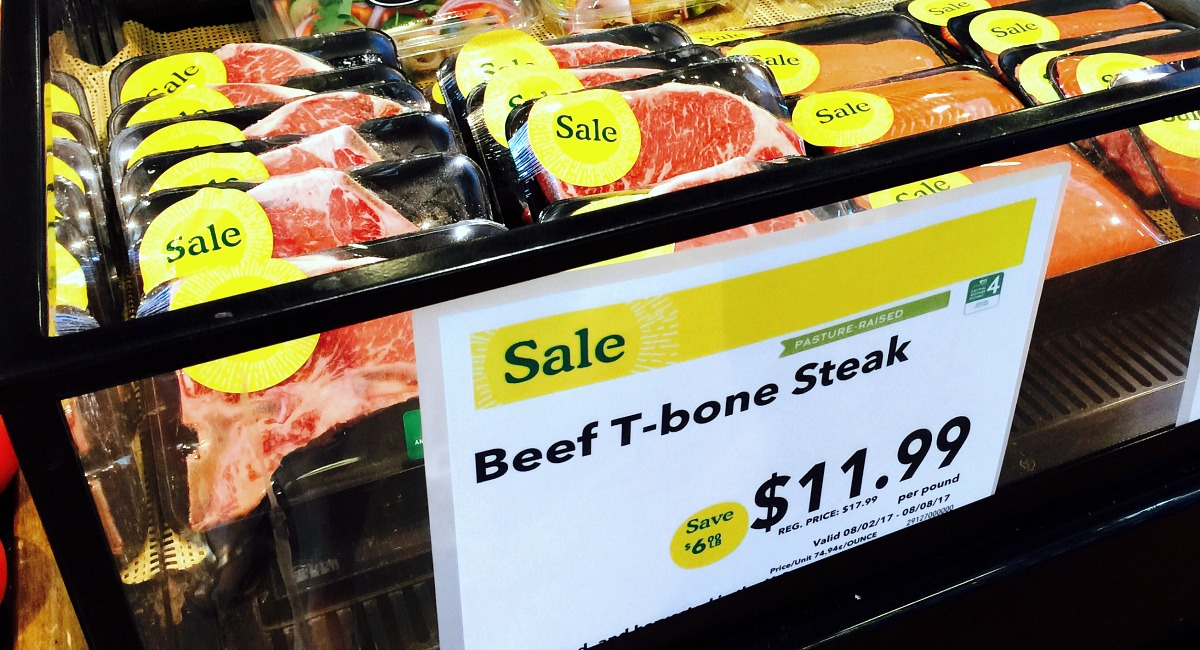 best keto shopping tips for finding meat – t bone steak sale at whole foods
