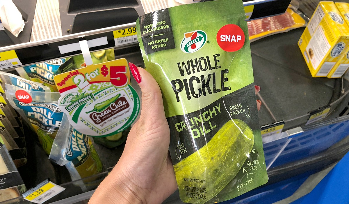 gas station keto-friendly snacks gas – whole pickle crunchy dill