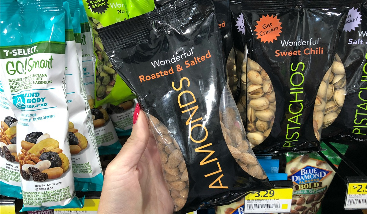 gas station keto-friendly snacks gas – roasted and salted almonds
