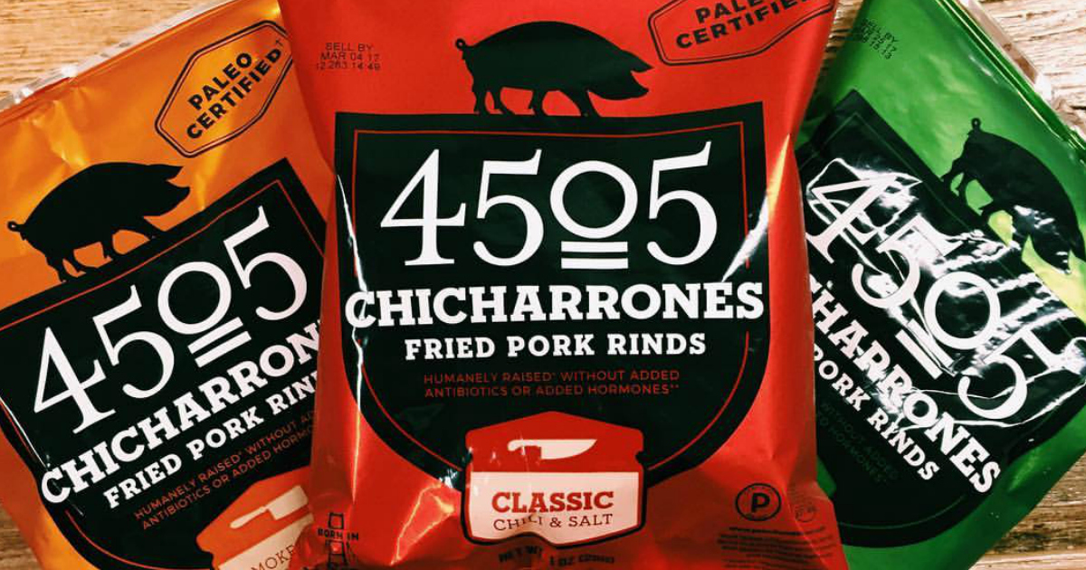 4505 Chicharrones are perfect for Keto
