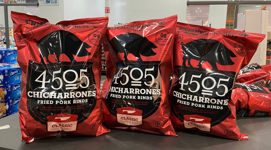 4505 Pork Rinds at Costco