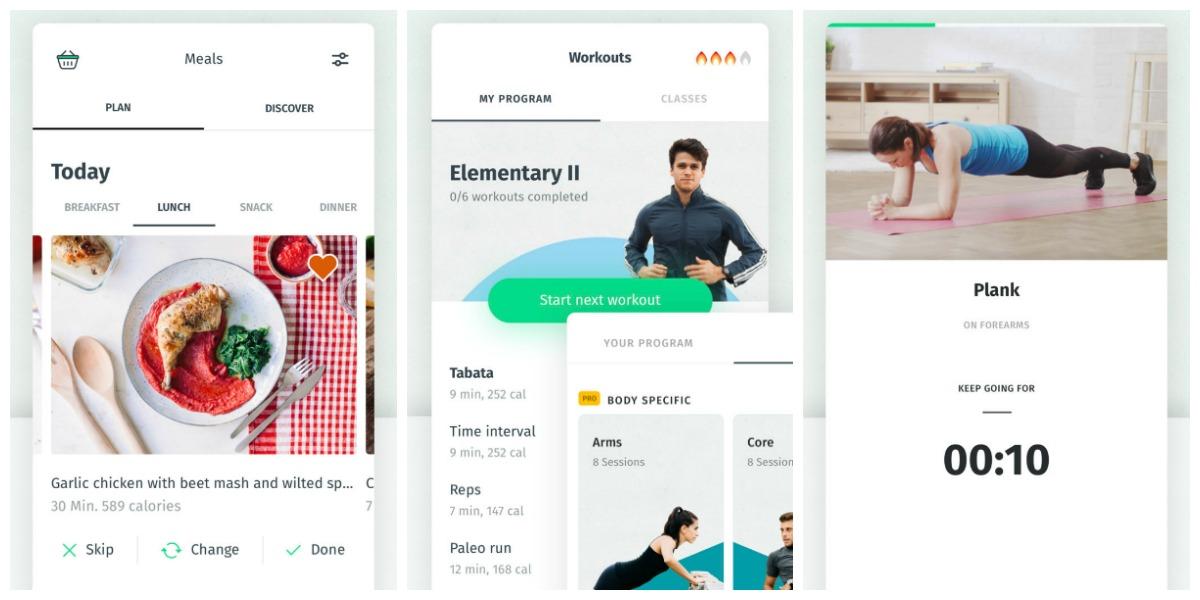 favorite keto smartphone apps — 8 fit screenshots