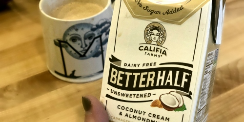 We're Hooked on Califia Farms Unsweetened Better Half Creamer