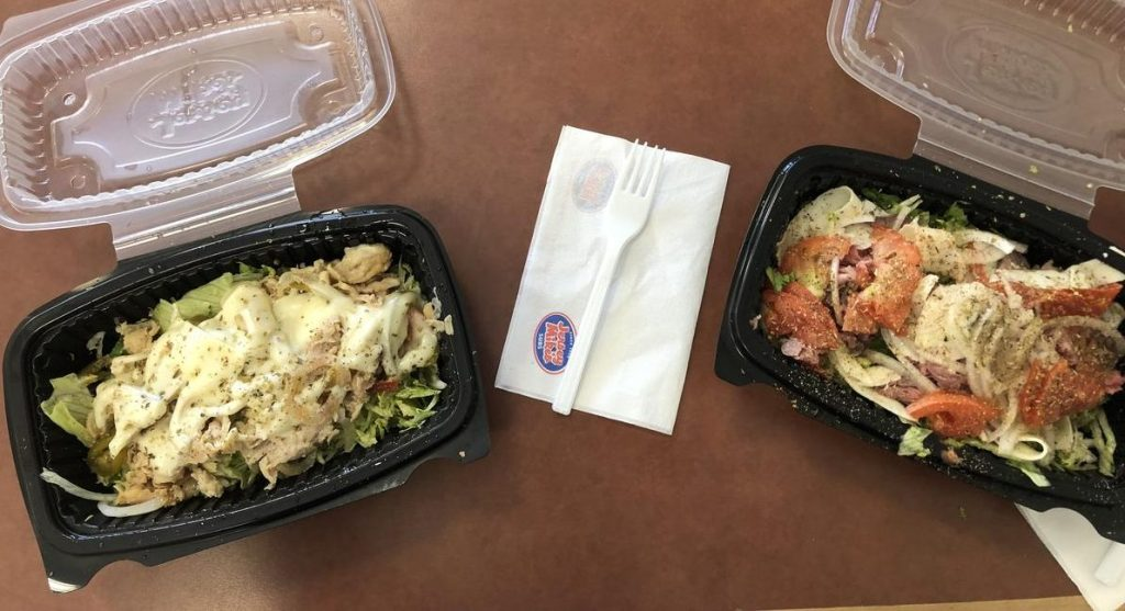 Jersey Mikes Sub in a Tub Keto