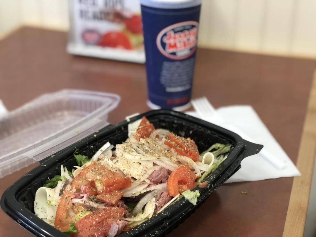 Jersey Mikes Sub in a Tub