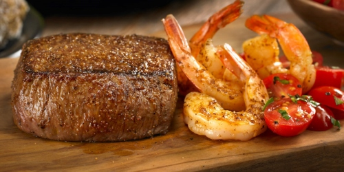 Unlimited Shrimp with Steak Purchase at Outback Steakhouse