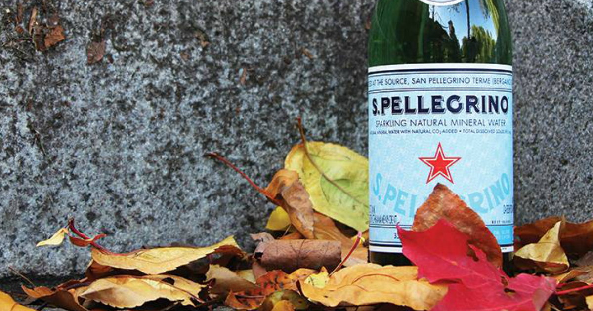 Walmart and Amazon have a deal on this S. Pellegrino sparkling mineral water