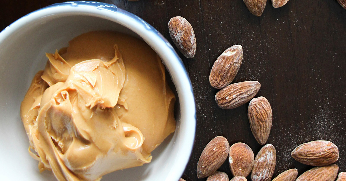 vegan keto diet — almonds and peanut butter for protein