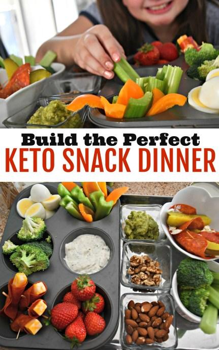 Snack Based Keto Dinner