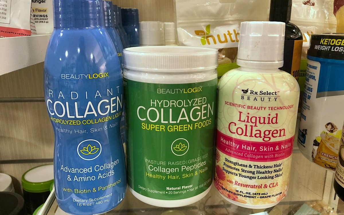 home goods keto foods include this assortment of collagen supplements
