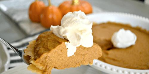 Hungry for Dessert? Bake This Easy Keto Pumpkin Pie!