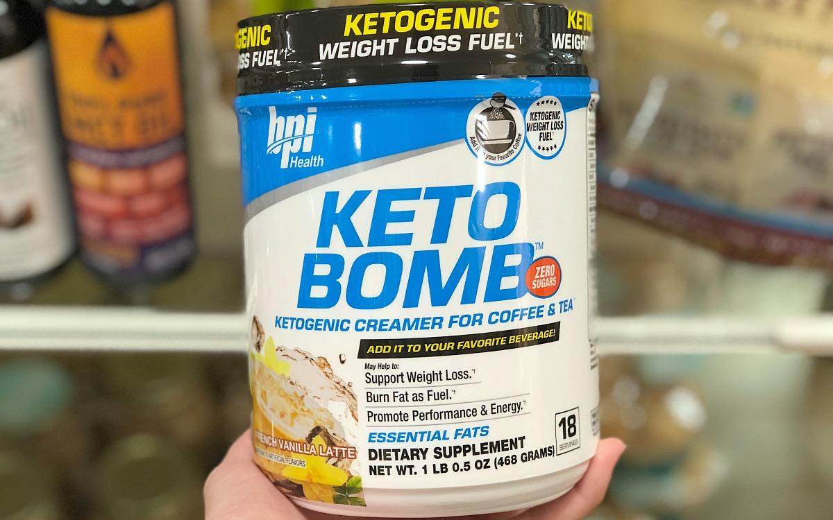 home goods keto foods include this tub of keto bomb keto creamer