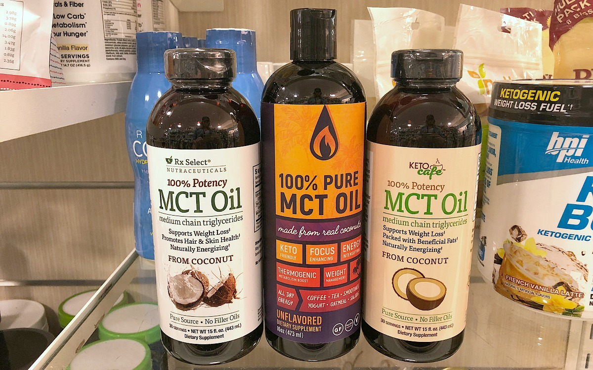 home goods keto foods include this mct oil variety