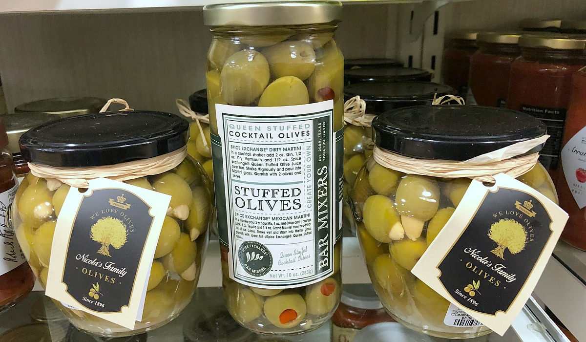 home goods keto finds — assortment of gourmet olives