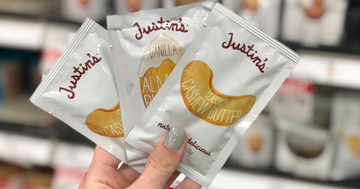 This keto target deal is for these justin's almond butter squeeze packs