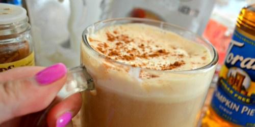 DIY Keto Pumpkin Spice Latte (Starbucks Copycat Recipe)